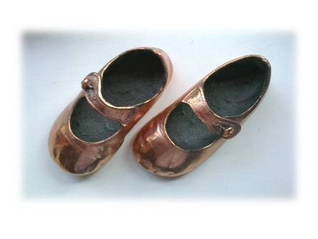 first shoes: coppered in 1991